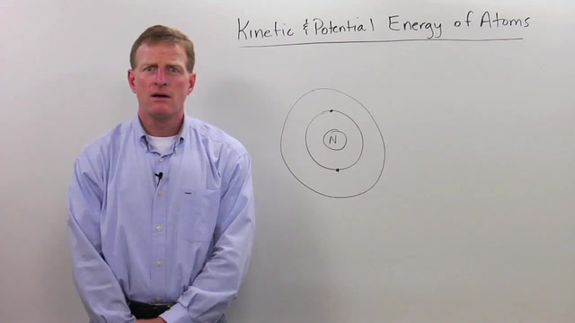Kinetic and Potential Energy of Atoms