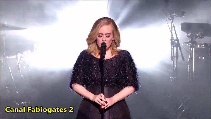 Bekijk hier het liveoptreden van Adele