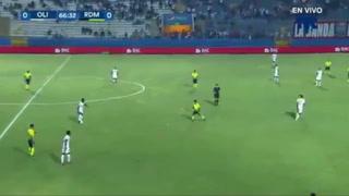 Olimpia 1-0 Real de Minas en el Estadio Nacional