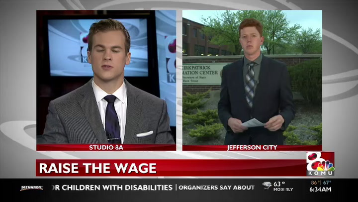 Group looking to raise minimum wage