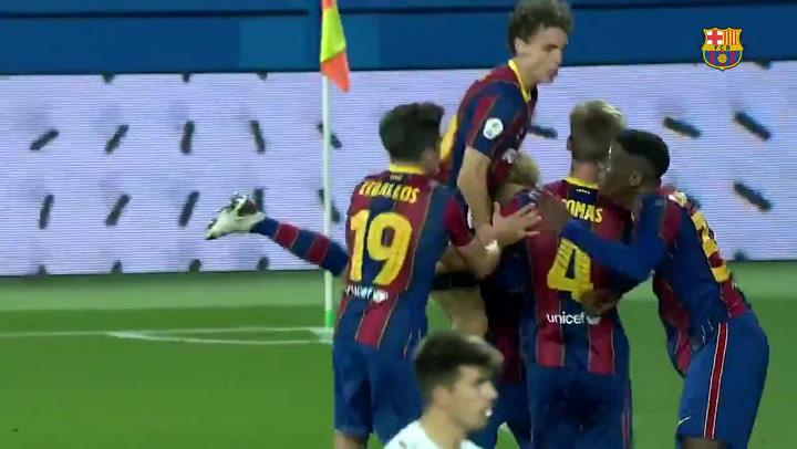 Comas da un sufrido triunfo al Barça B frente al Nàstic