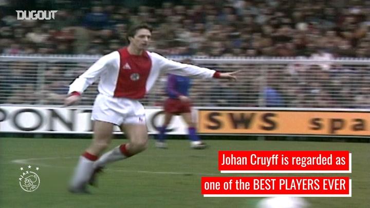 Johan Cruyff's unforgettable Ajax legacy