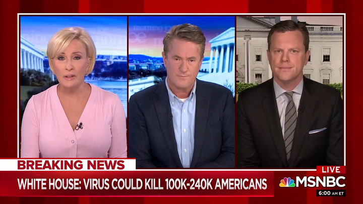 Scarborough on Coronavirus: 'Everybody Saw this Coming in Early January'