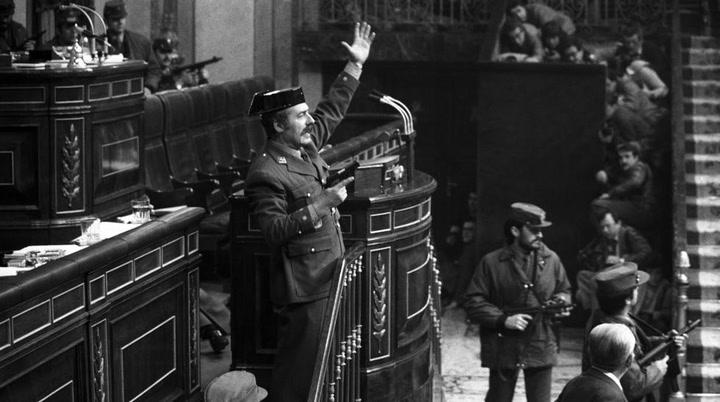 Se cumplen cuarenta años del intento de golpe de Estado del 23-F