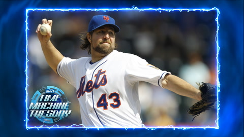 2012: R.A. Dickey makes history by winning Cy Young
