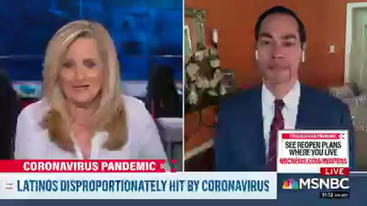 Castro: Trump's Coronavirus Response 'One of the Worst Failures in the History of Our Country'