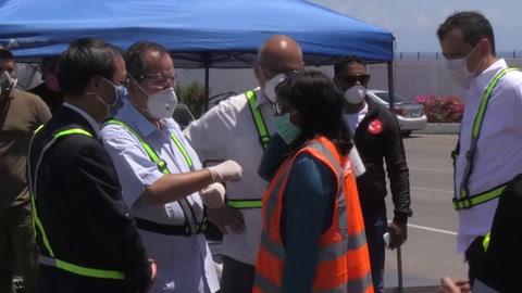 Venezuela recibe segundo cargamento de ayuda humanitaria de China para combatir COVID-19