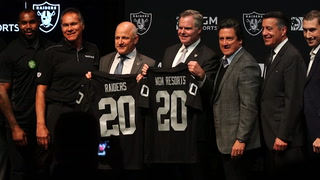 Raiders and MGM Resorts announce partnership – VIDEO