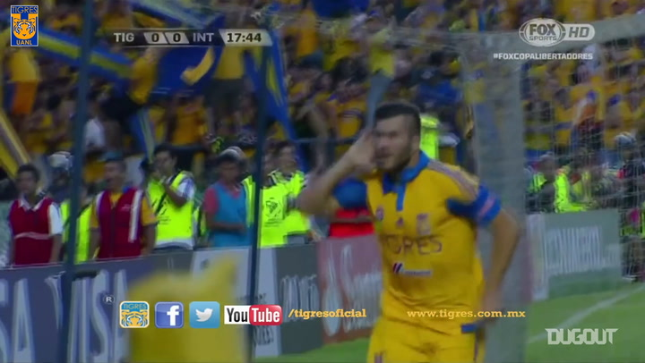 Tigres beat Internacional in the 2015 Libertadores semifinal