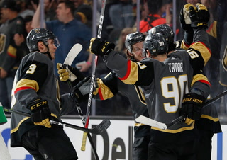 Golden Edge: Knights Beat Blues In Overtime