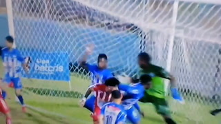 El gol de Alexander Aguilar al Victoria