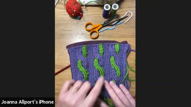 Christmas Workshop with Jo Allport: Knit a Cable Bag