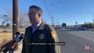 Barricade situation in central Las Vegas – VIDEO