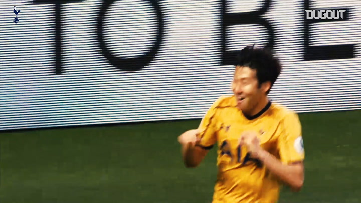 Heung-Min Son's Premier League Goals Against Leicester