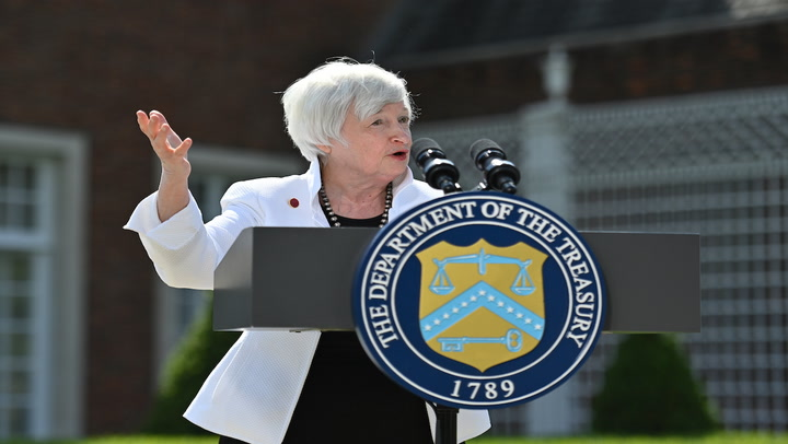 Treasury Secretary Yellen Says Inflation Could Reach 3% This Year As Recovery Continues