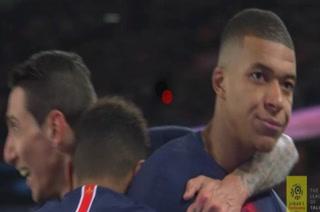 La controversial celebración de Mbappé con el PSG en Francia