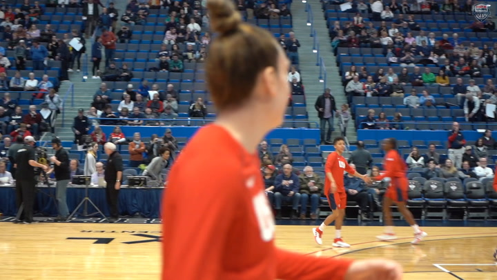 Highlights: 2020 USA WNT 79, UConn 64