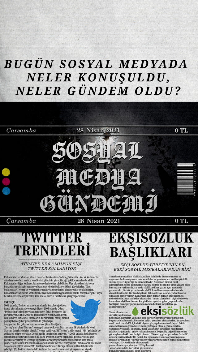 Sosyal medyayı sallayanlar - 28 Nisan