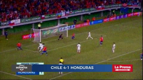 Chile 4-1 Honduras