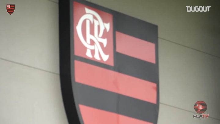 Flamengo continue to train at Ninho do Urubu