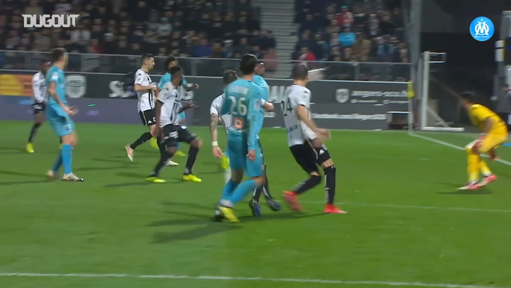 Olympique de Marseille's top five goals vs Angers