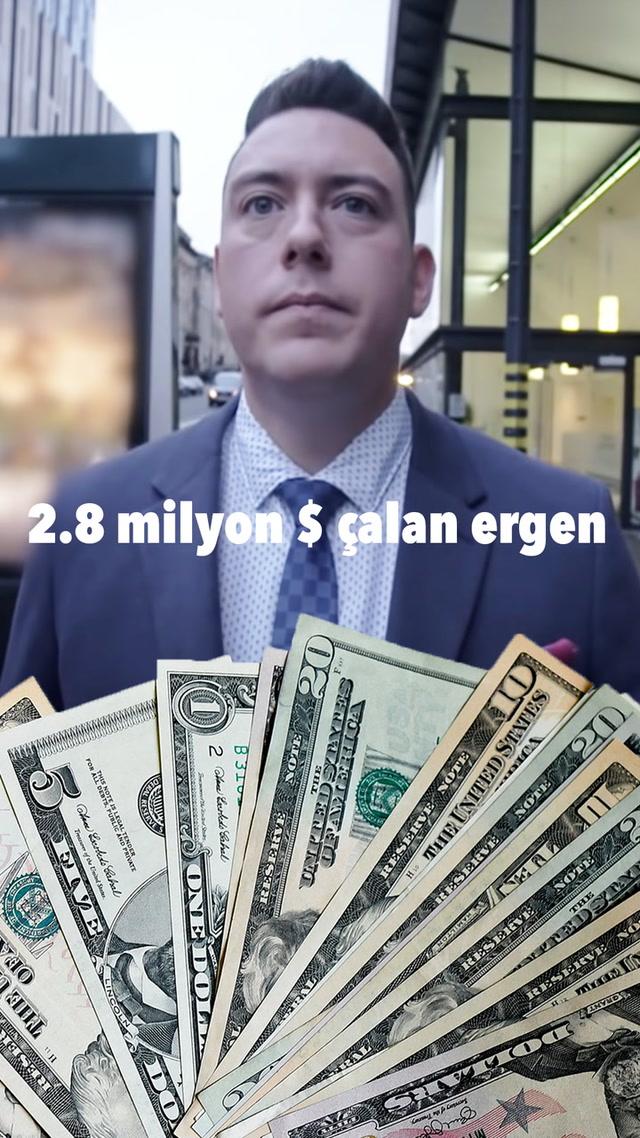 2.8 milyon $ çalan ergen