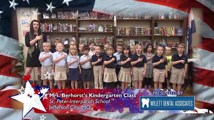 St. Peter Interparish School - Mrs. Berhorst - Kindergarten