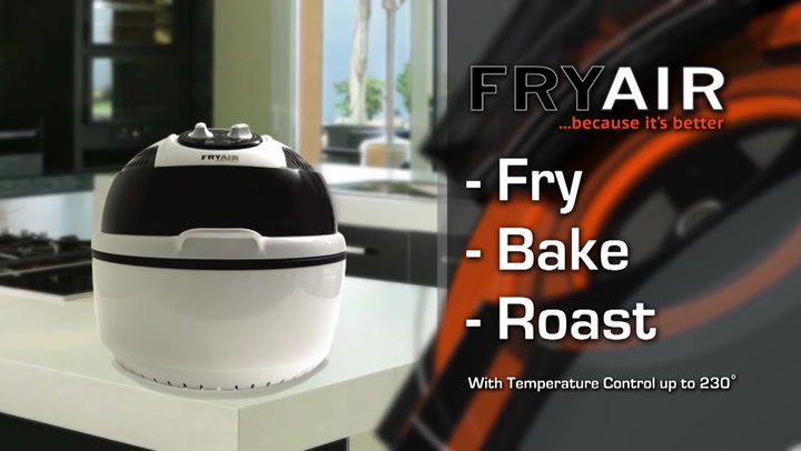 Preview image of FryAir AirFryer & Portable Oven.mp4 video