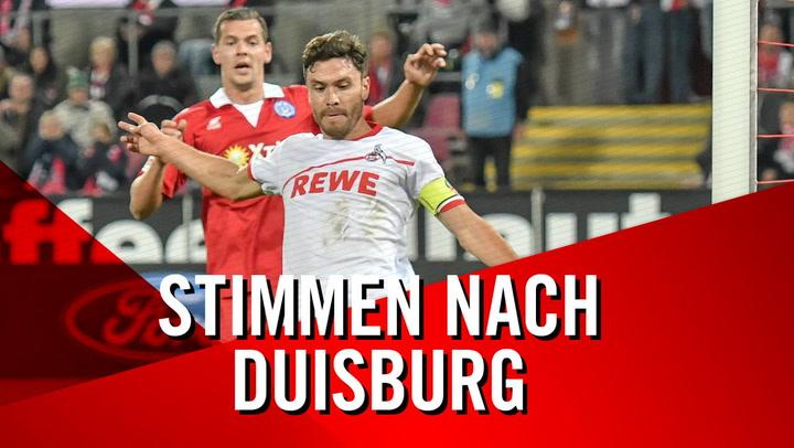 Stimmen nach Duisburg