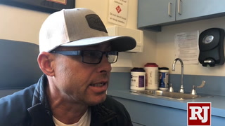 Aaron Semas, professional bull rider, talks about his traumatic brain injuries