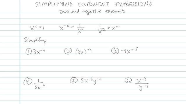Simplifying Expressions with Exponents - Problem 7