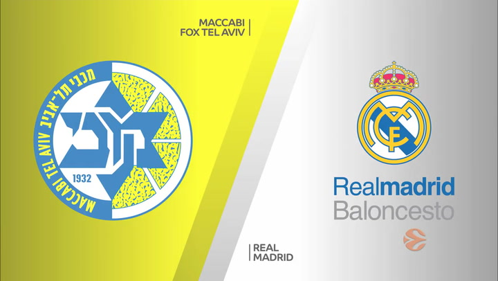 Euroliga: Maccabi FOX Tel Aviv - Real Madrid