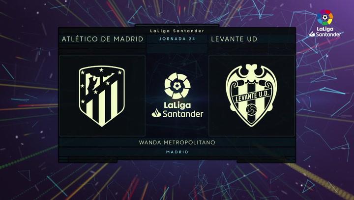 LaLiga Santander (J24): Resumen y goles del Atlético de Madrid 0-2 Levante