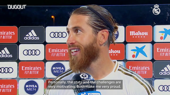 Ramos: 'We're going to do our best to win LaLiga'