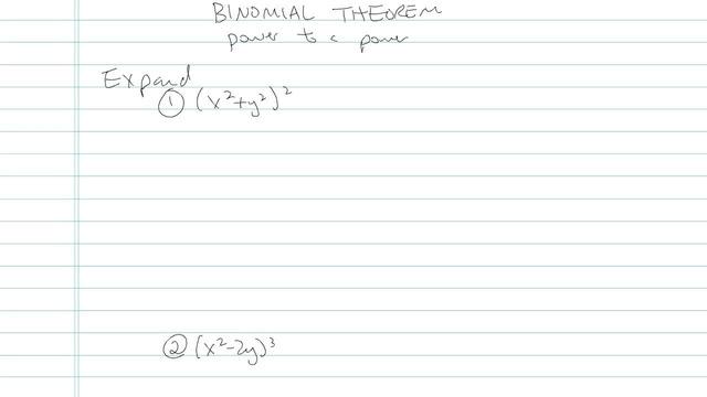 Binomial Theorem - Problem 7
