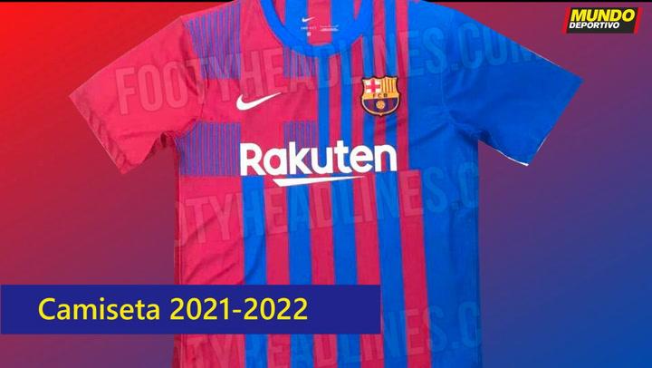Esta podría ser la nueva camiseta del Barça para la próxima temporada 2021-2022