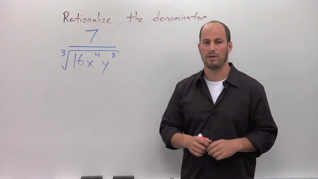 Rationalizing the Denominator with Higher Roots - Problem 2