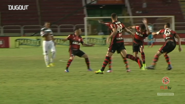 Lucas Paquetá long-distance goal vs Madureira