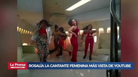 Rosalía ya es la cantante femenina más vista de YouTube en 2019