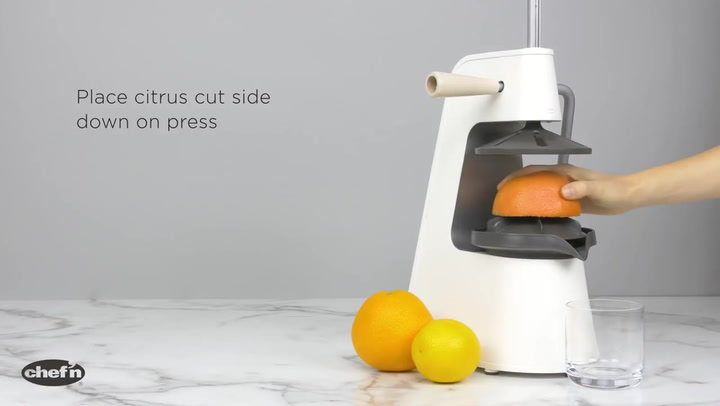 Preview image of Chef'n FreshForce Citrus Press video