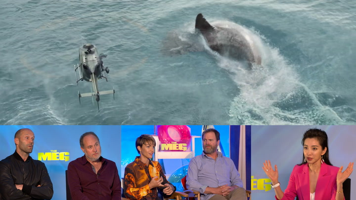 'The Meg' Cast Discusses Difficulties of Filming in Water