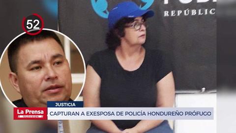Capturan a exesposa de policía hondureño prófugo de la justicia y otras noticias