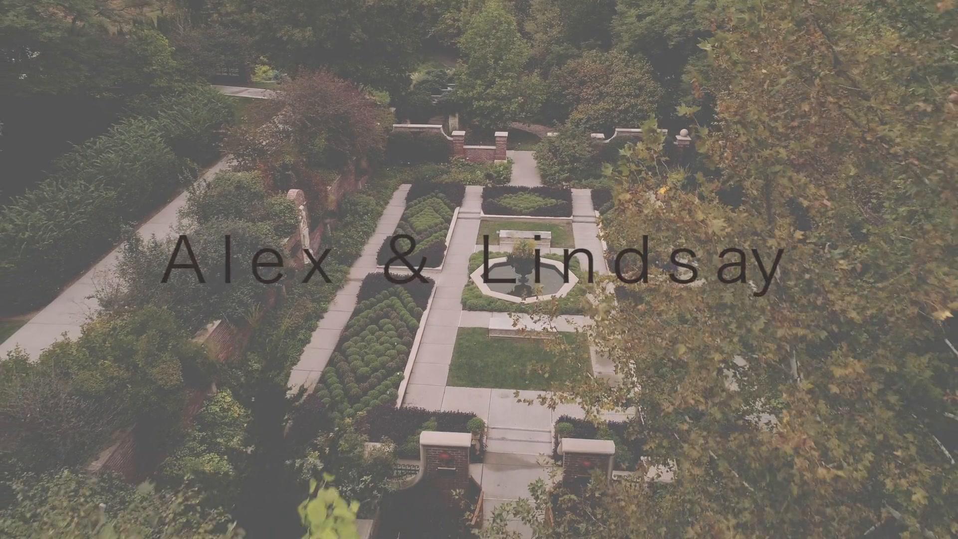Alex + Lindsay | Omaha, Nebraska | Lauritzen Gardens