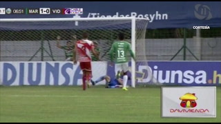 Marathón 2 - 2 Vida (Liga Nacional de Honduras)