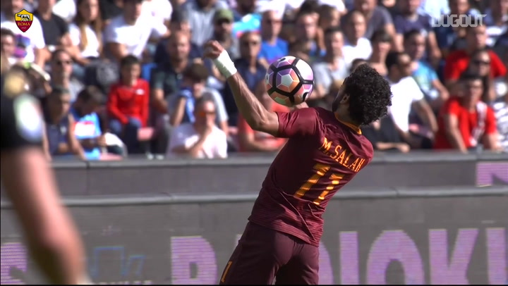 Best Forwards: Mohamed Salah at Roma