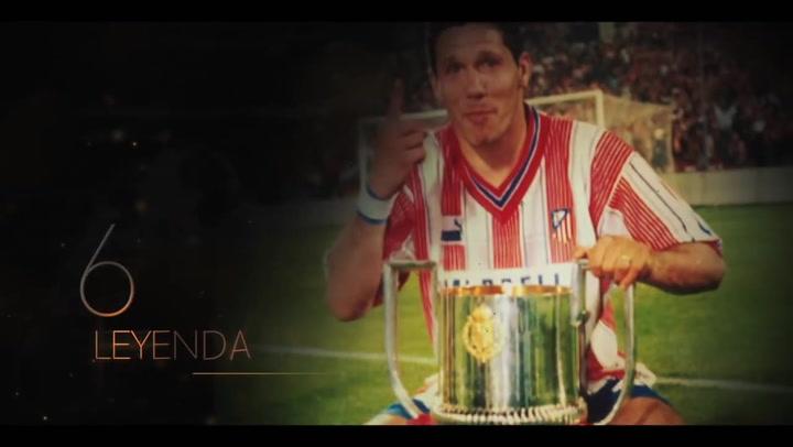 Simeone, entrega y dedicación total al Atlético