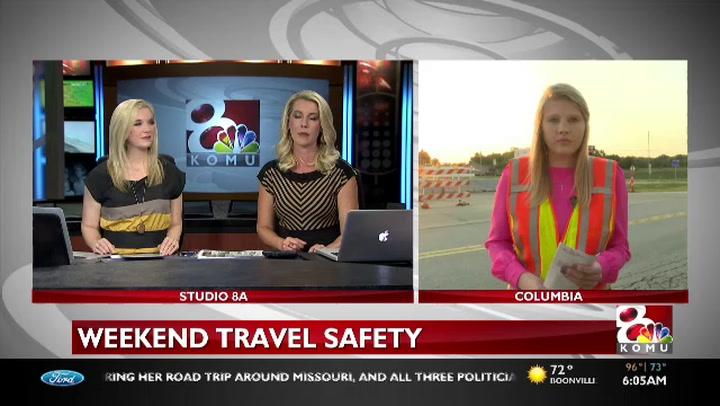 Weekend travels may bring more traffic