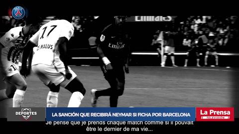 La sanción que recibirá Neymar si ficha por Barcelona o Real Madrid