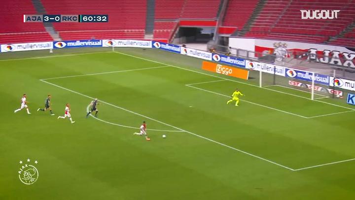 Antony nets twice in first Ajax appearance