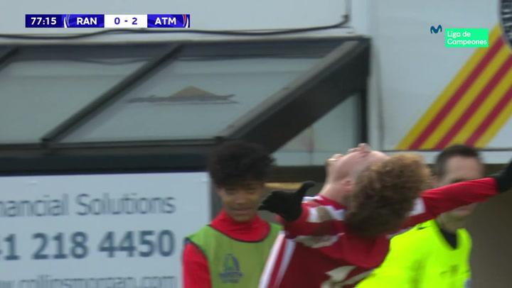 Youth League: Resumen y Goles del Glasgow Rangers - Atlético Madrid